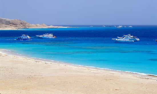 Giftun Island , hurghada weather طقس الغردقة